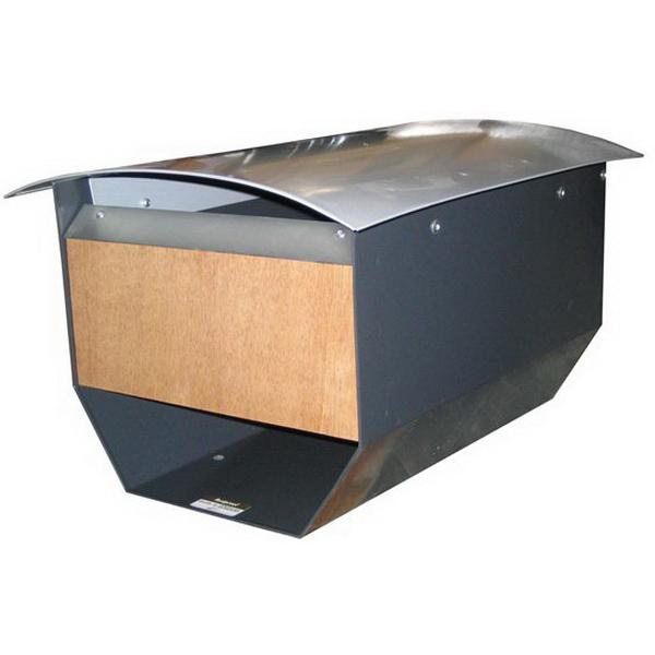 Aspiring - Wooden Fascia Letter Box Wood ASPW