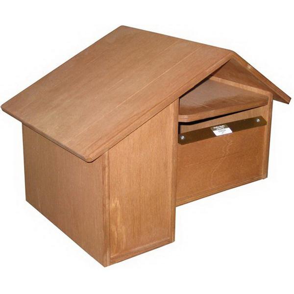 Sierra Oiled Wooden Letter Box SIERRA