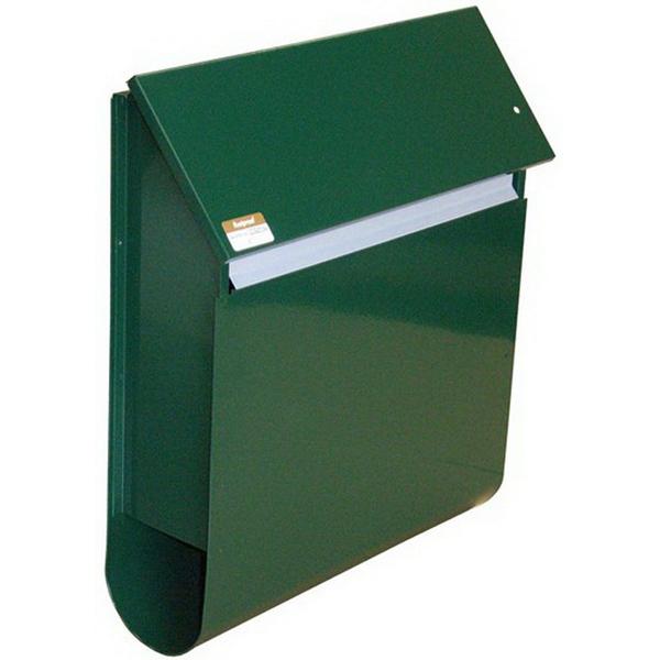 Slimline Letter Box Black SLIB