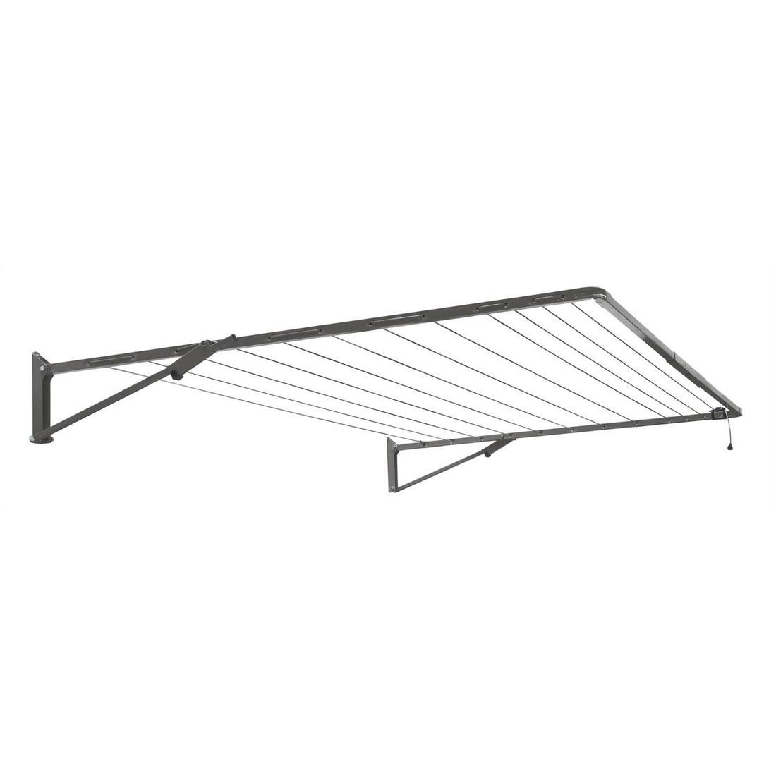 Standard Fold Down Clothesline Woodland Grey 2.49 x 1.5m