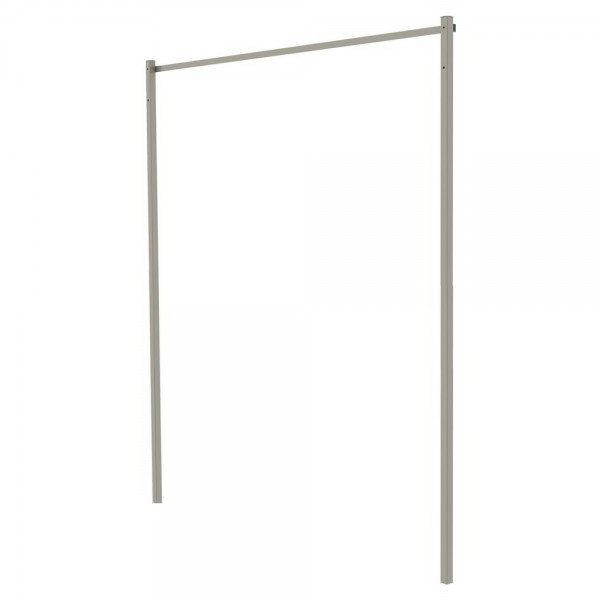 Folding Frame Post Kit 2.2m Stone 77261