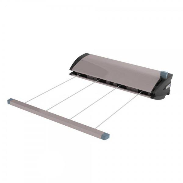 4 Line Retracting Clothesline Stone 77350