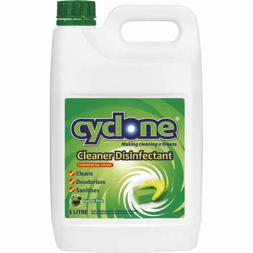 Cyclone Disinfectant Cleaner 5L Forest Pine 5385579