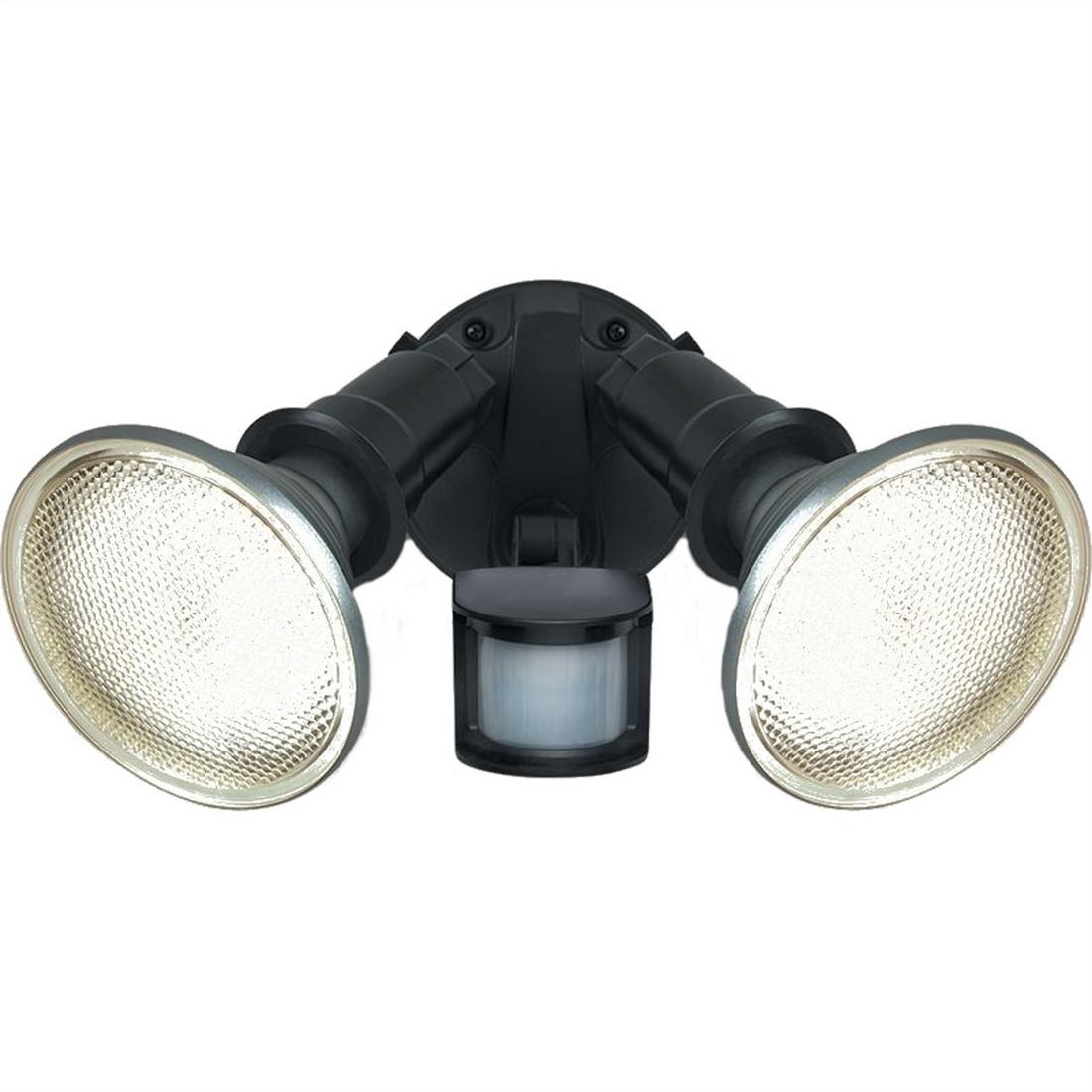 29W Twin LED with PIR Sensor IP44 Floodlight Warm White