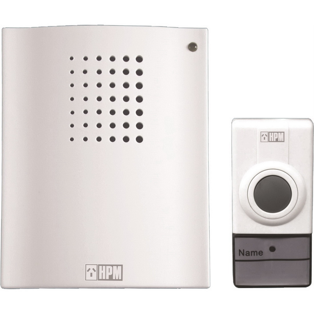 Classic Battery Operated Wireless Door Chime White