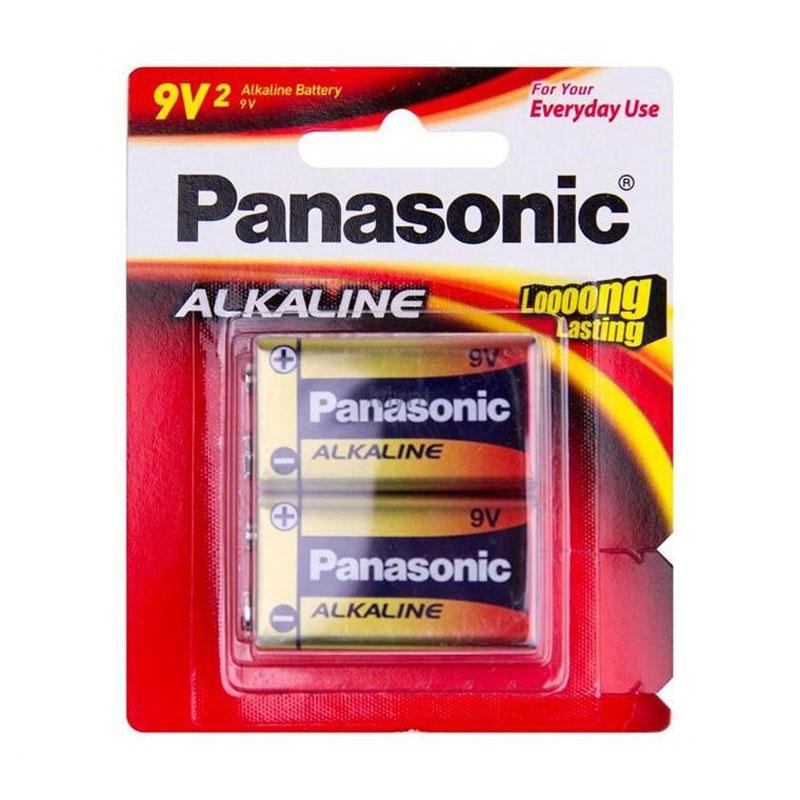 9V Red Alkaline Battery 2 pack