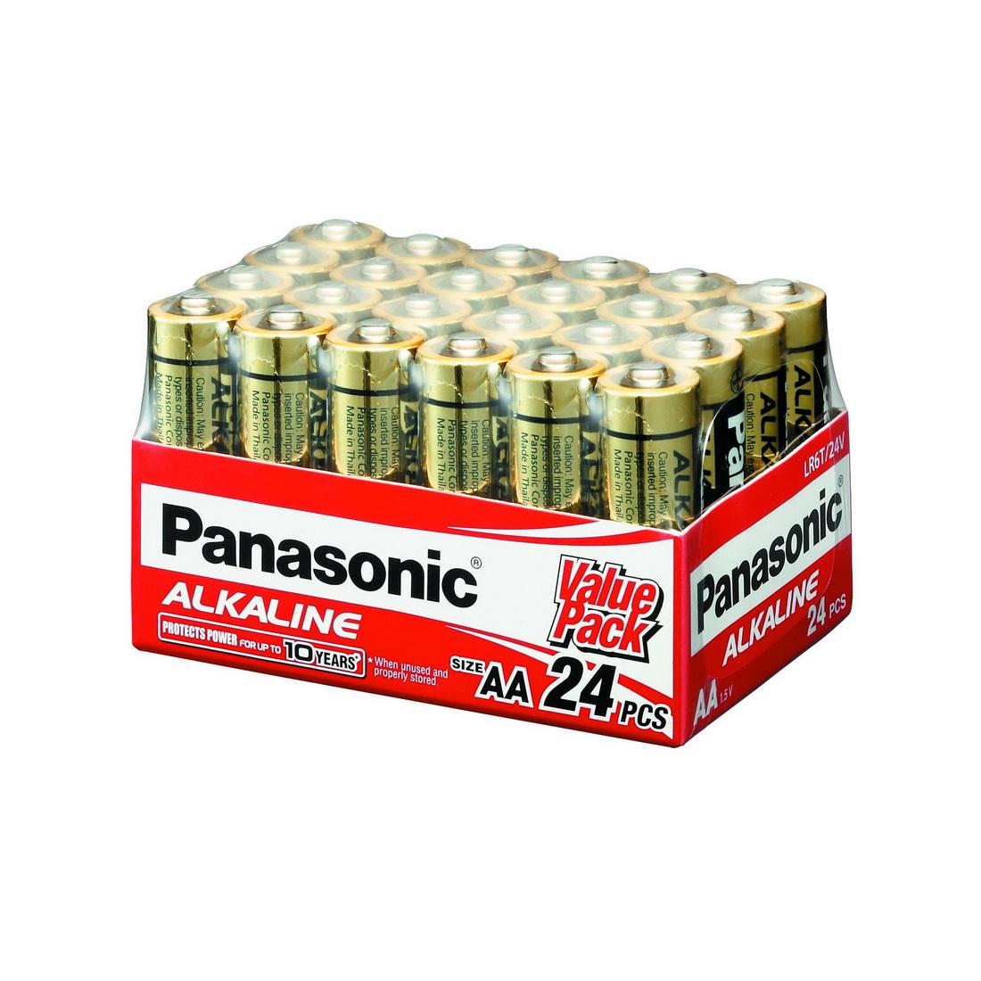 AA Alkaline Battery 1.5V 24 pack LR6T/24V