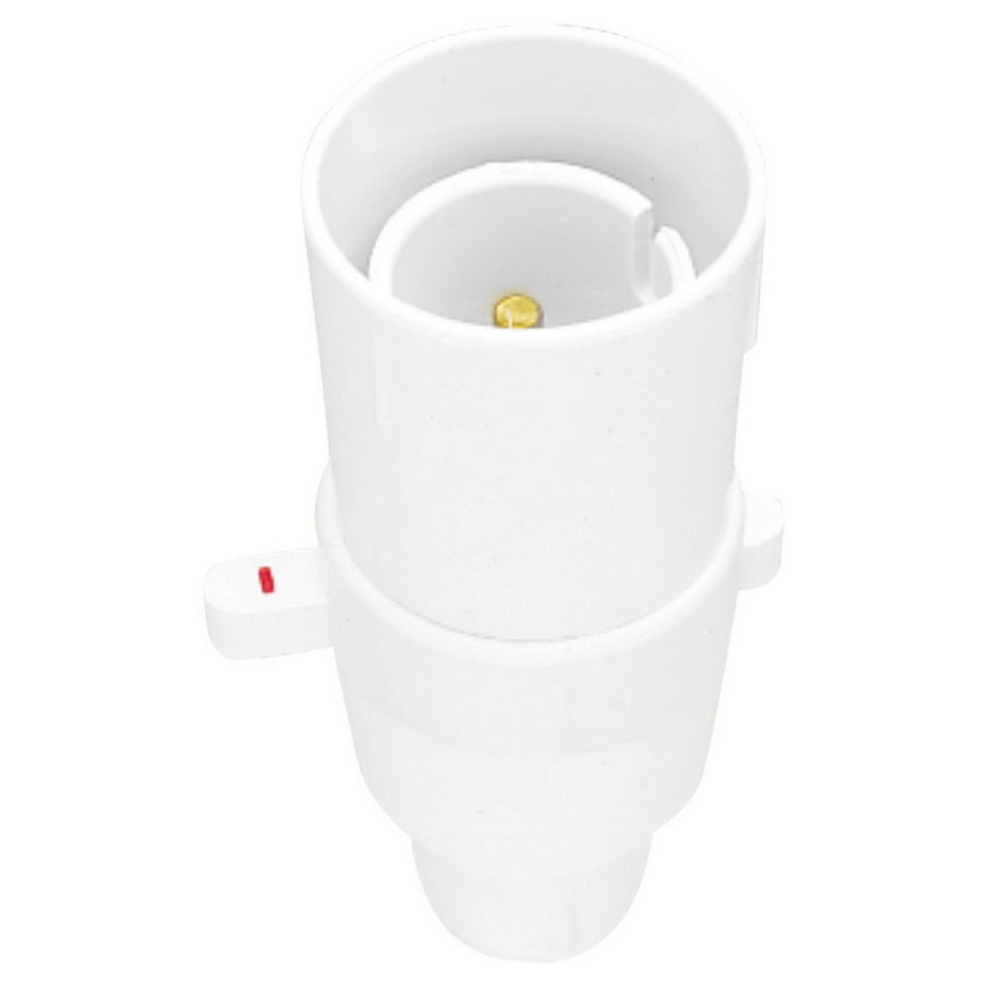 3A Switched Lamp Holder White