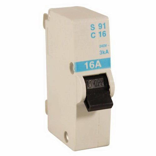 16A 1-Pole Plug-In Mini Circuit Breaker Blue