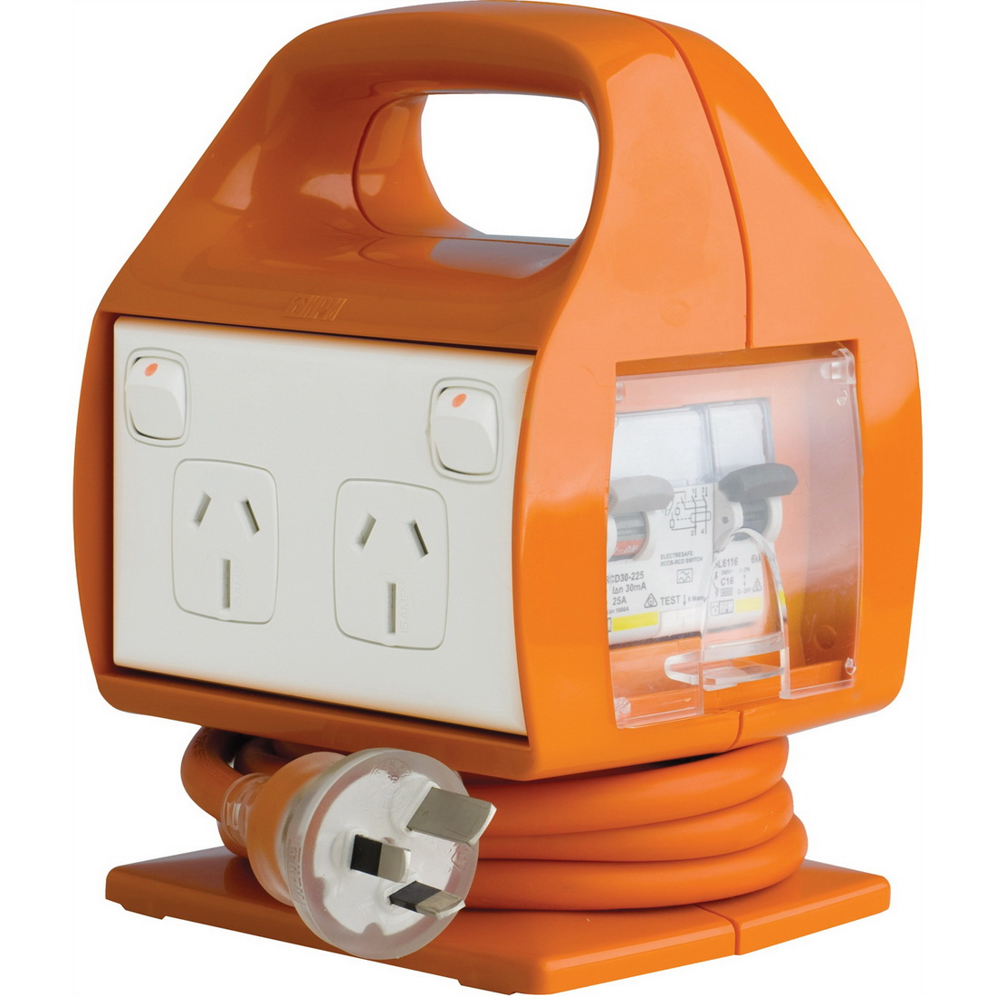 4 Outlet Electresafe Electresafe Power Centre with RCBO Protection