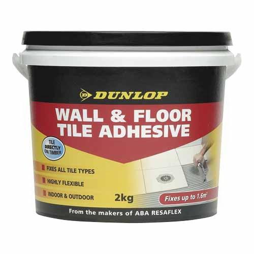 Wall & Floor Tile Adhesive 2kg Grey
