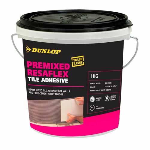 Wall & Floor Tile Adhesive 8kg Grey