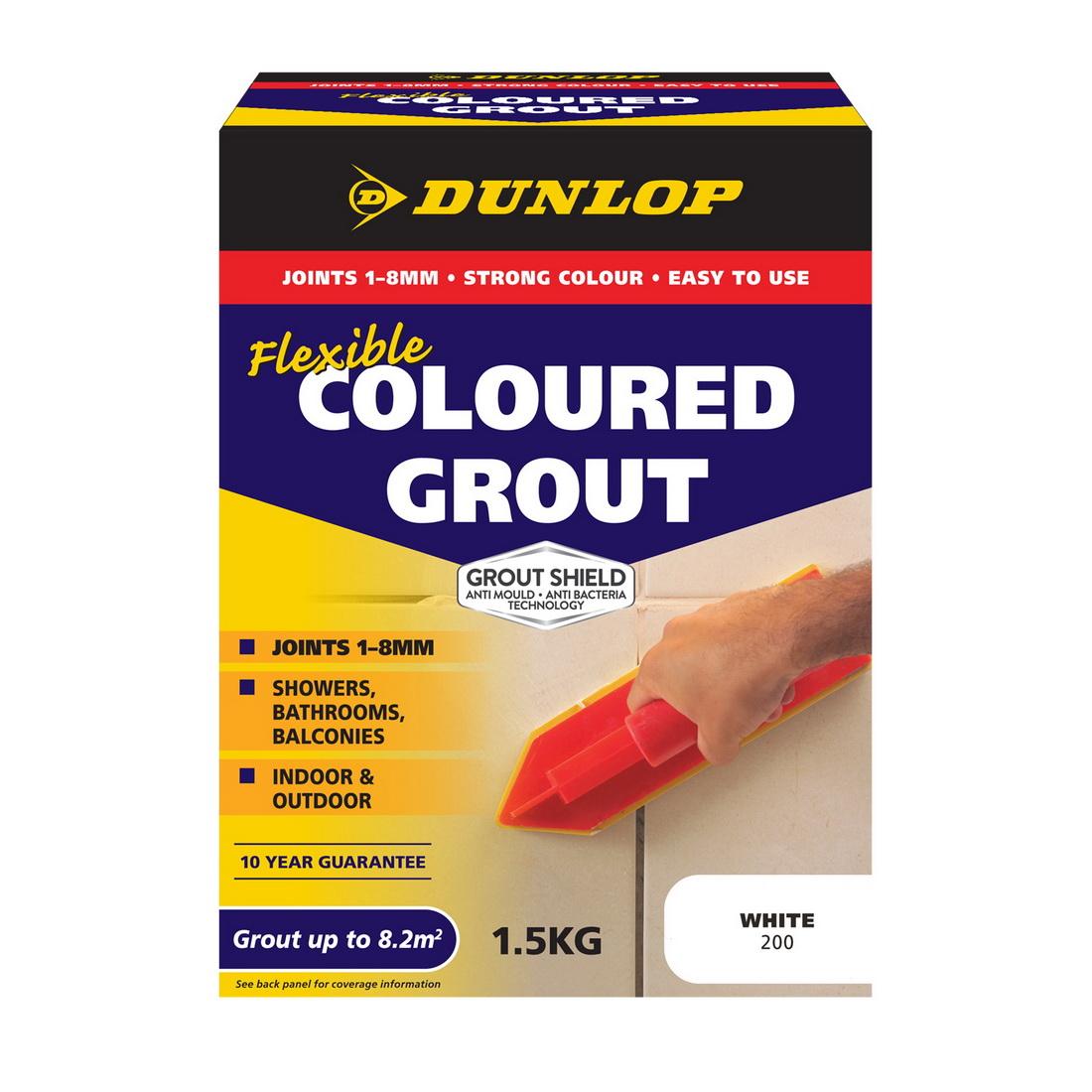 Flexible Coloured Grout Misty Grey 1.5kg 10321