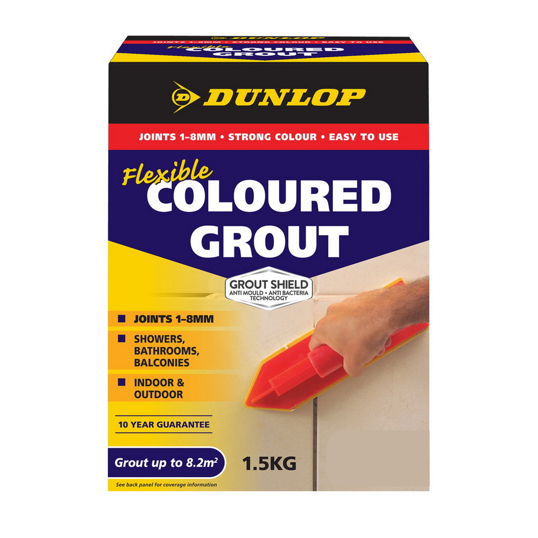 Flexible Coloured Grout Midnight 5kg 10330