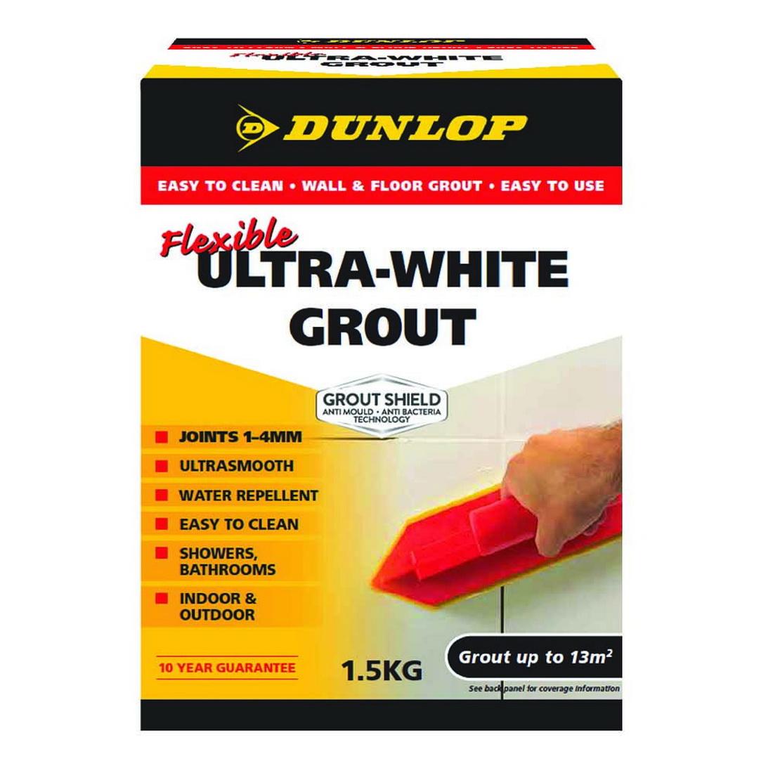 Flexible Grout Ultra White 1.5kg 10373