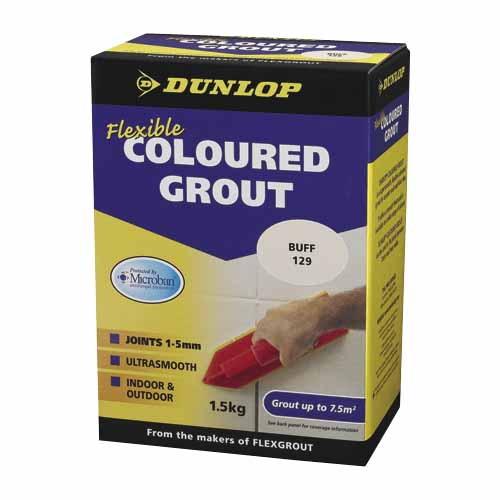 Flexible Coloured Grout Misty Grey 5kg 10329