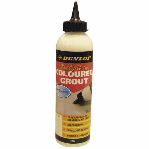 Ready-to-Go Coloured Grout Jet Black 800g 11257