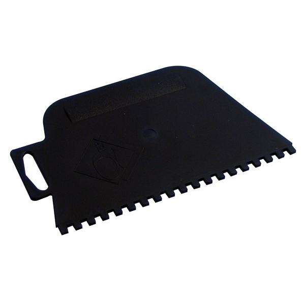 Square Notch Plastic Adhesive Spreader 4mm Blue 15040
