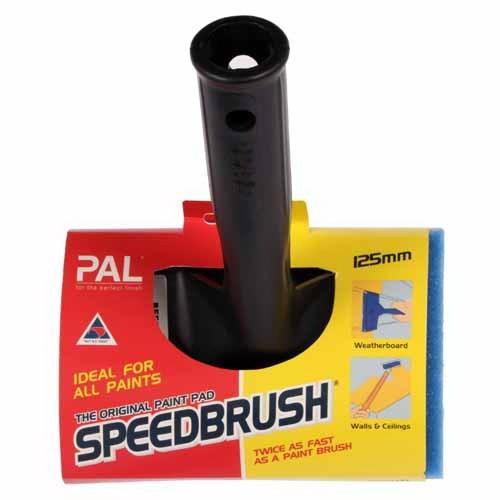 Speedbrush 125mm Handle & Pad