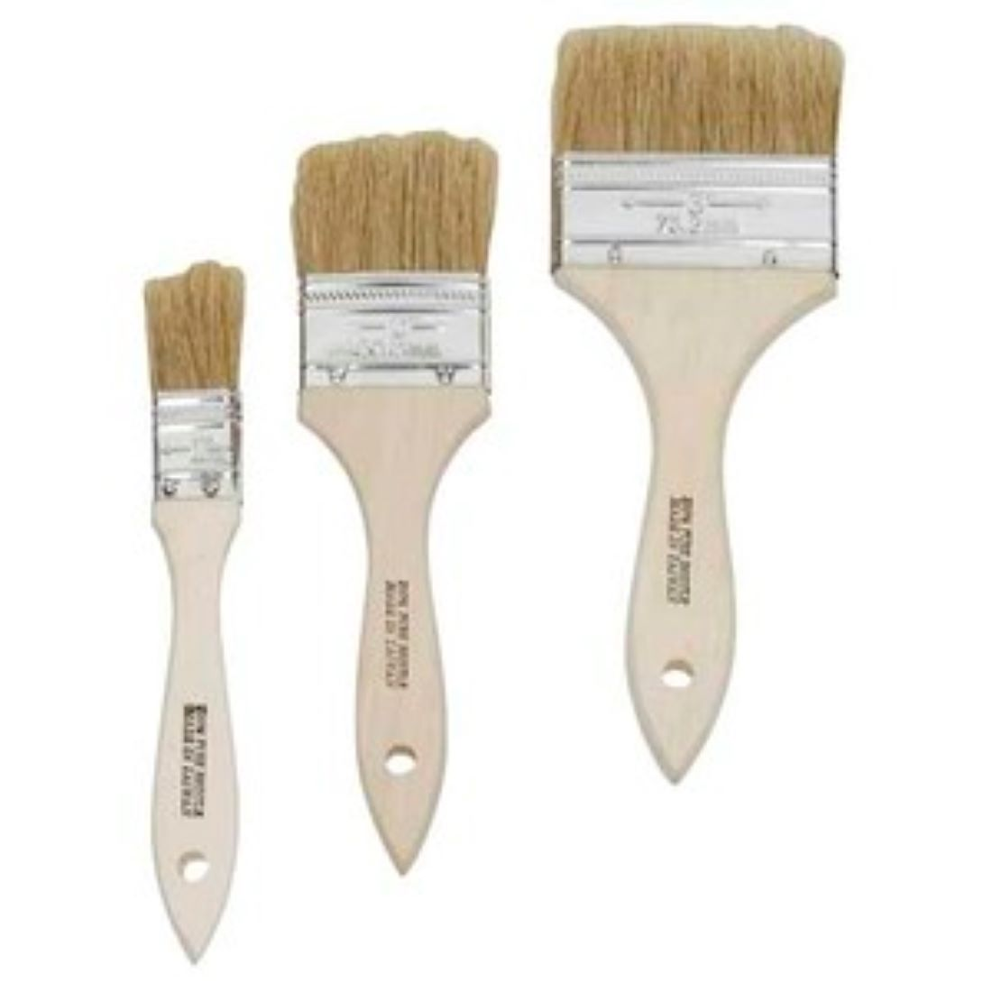 Value Disposable Chip Paint Brush 3 Pack