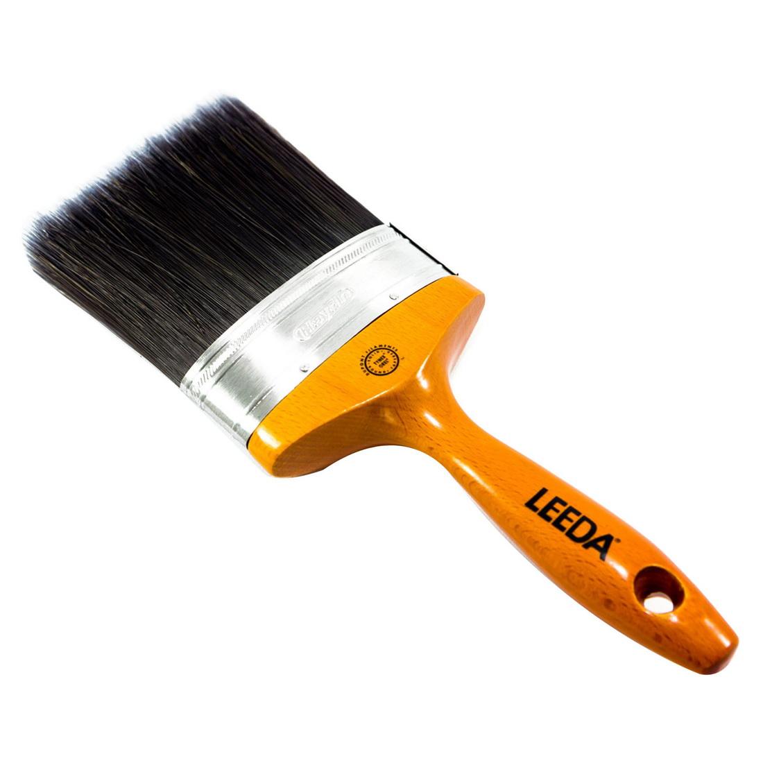 Leeda 100mm Oval Paint Brush