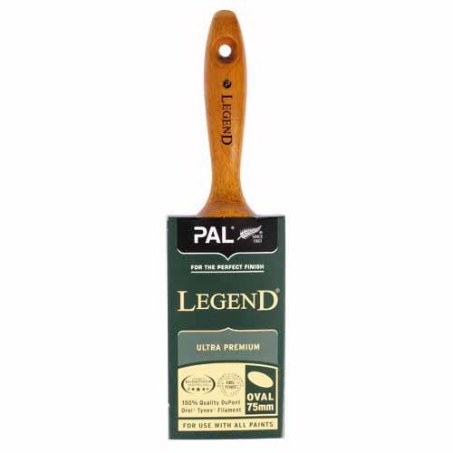 Legend Ultra Premium 75mm Oval Paint Brush