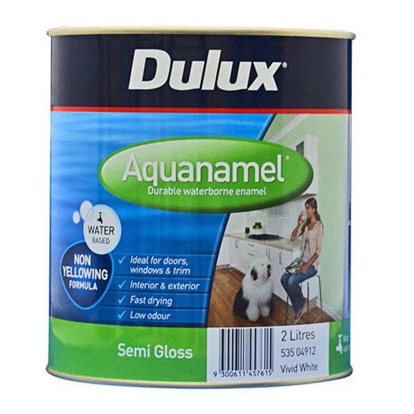 Aquanamel Semi Gloss Vivid White 2L