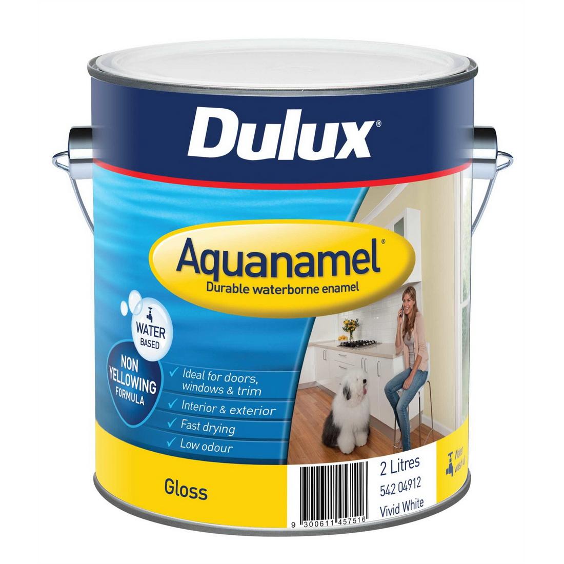 Aquanamel Gloss Vivid White 2L