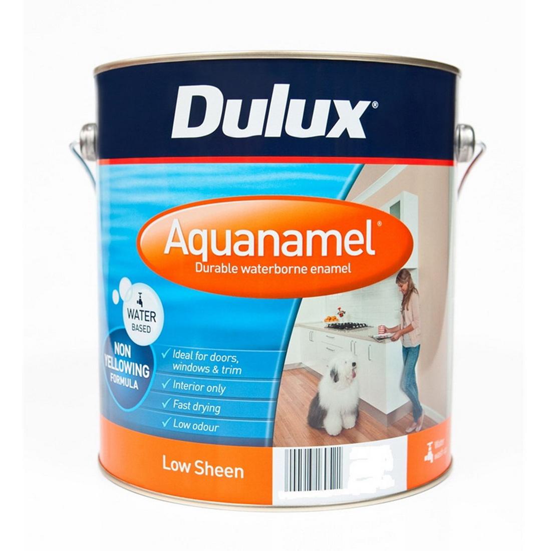 Aquanamel Low Sheen Vivid White 2L