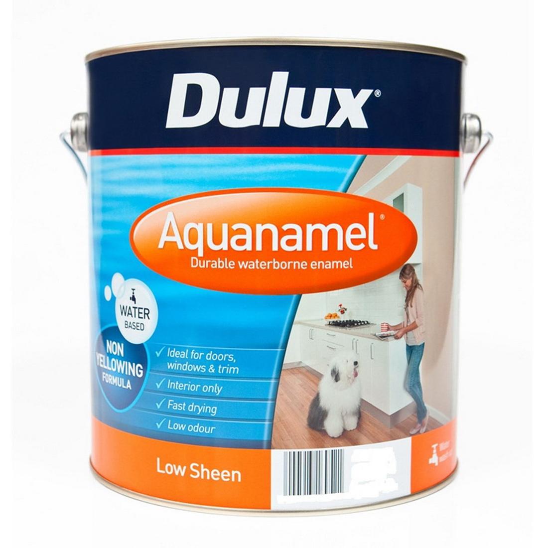 Aquanamel Low Sheen Vivid White 4L