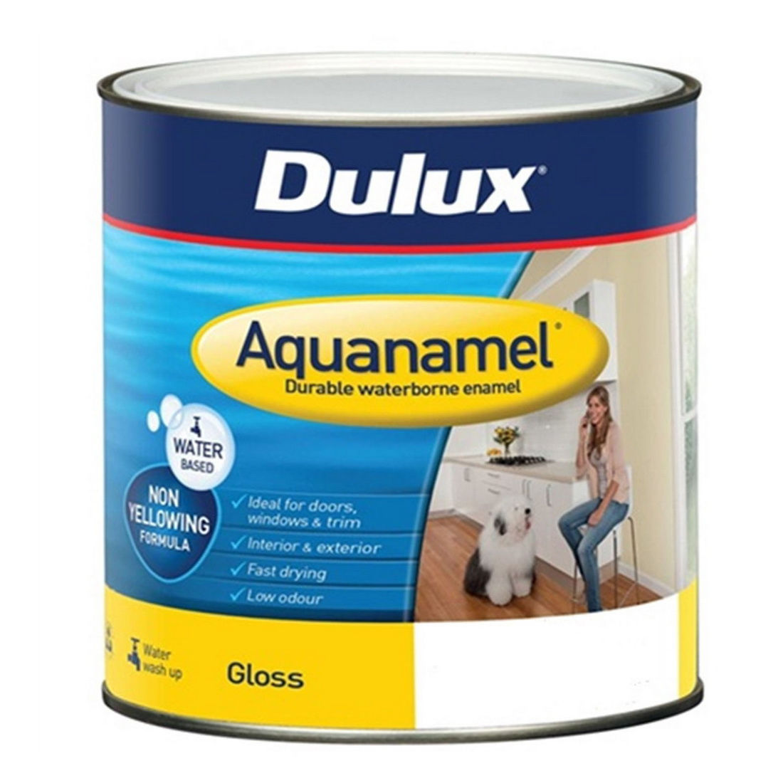 Aquanamel Gloss Vivid White 500ml