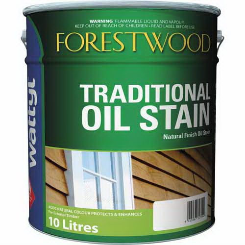 Forestwood 10L Traditional Oil Stain Blackbean