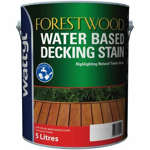 Forestwood 5L Decking Stain Gloss Mission Brown