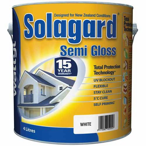 Solagard Exterior Topcoat Semi-Gloss Blue 4L