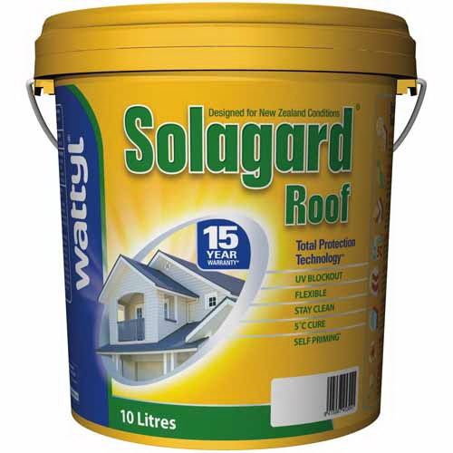 Solagard 10L Roof Paint Ironsand