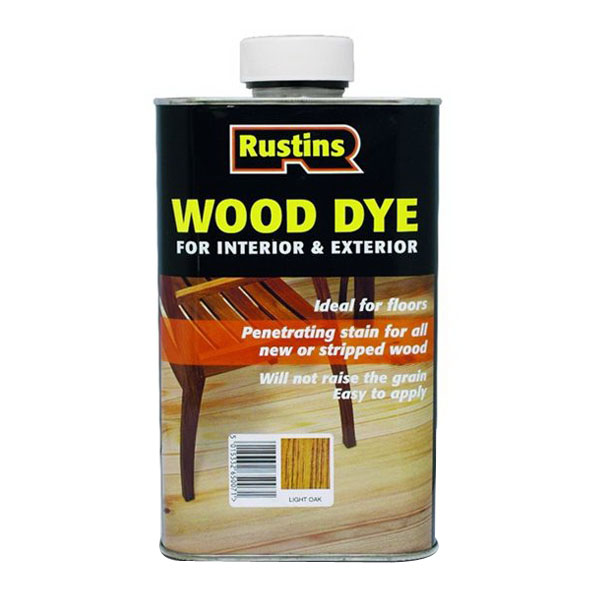 250mL Wood Dye Light Teak