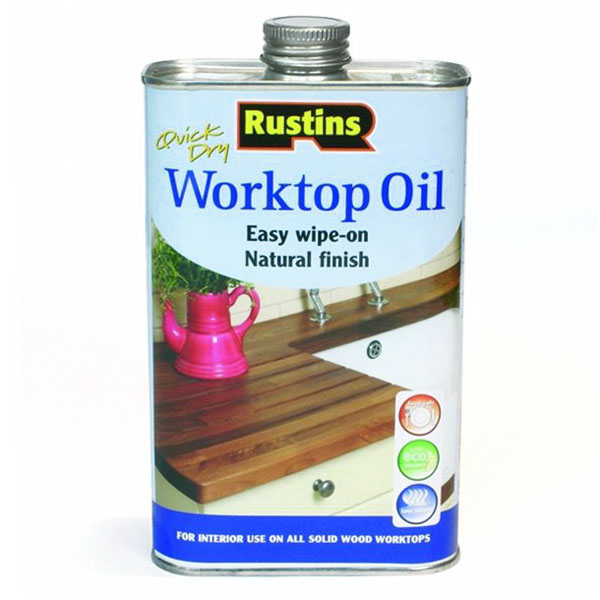 500mL Worktop Oil Natural Finish Clear