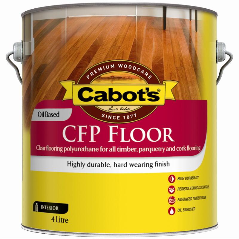 4L CFP Oil Based Flooring Polyurethane Satin Clear