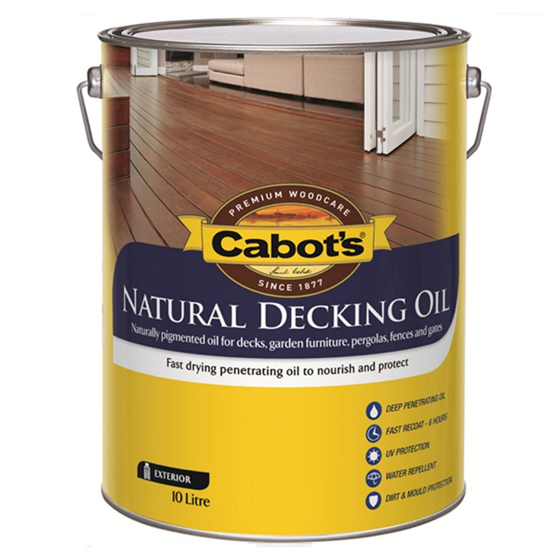 Natural Decking Oil Traditional Pine 10L 83682171-10LZ