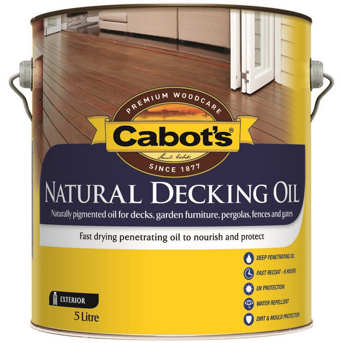 Natural Decking Oil Traditional Pine 5L 83682171-5LZ