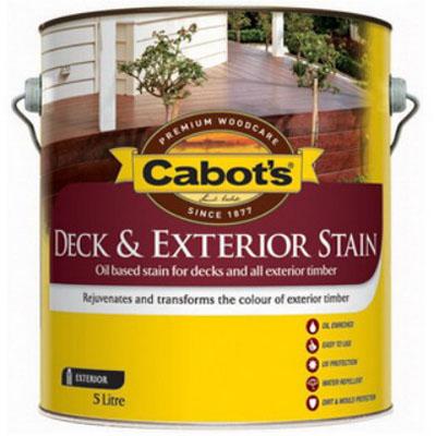 Deck & Exterior Stain Oil Based Blackbean 5L 82682082-5LZ