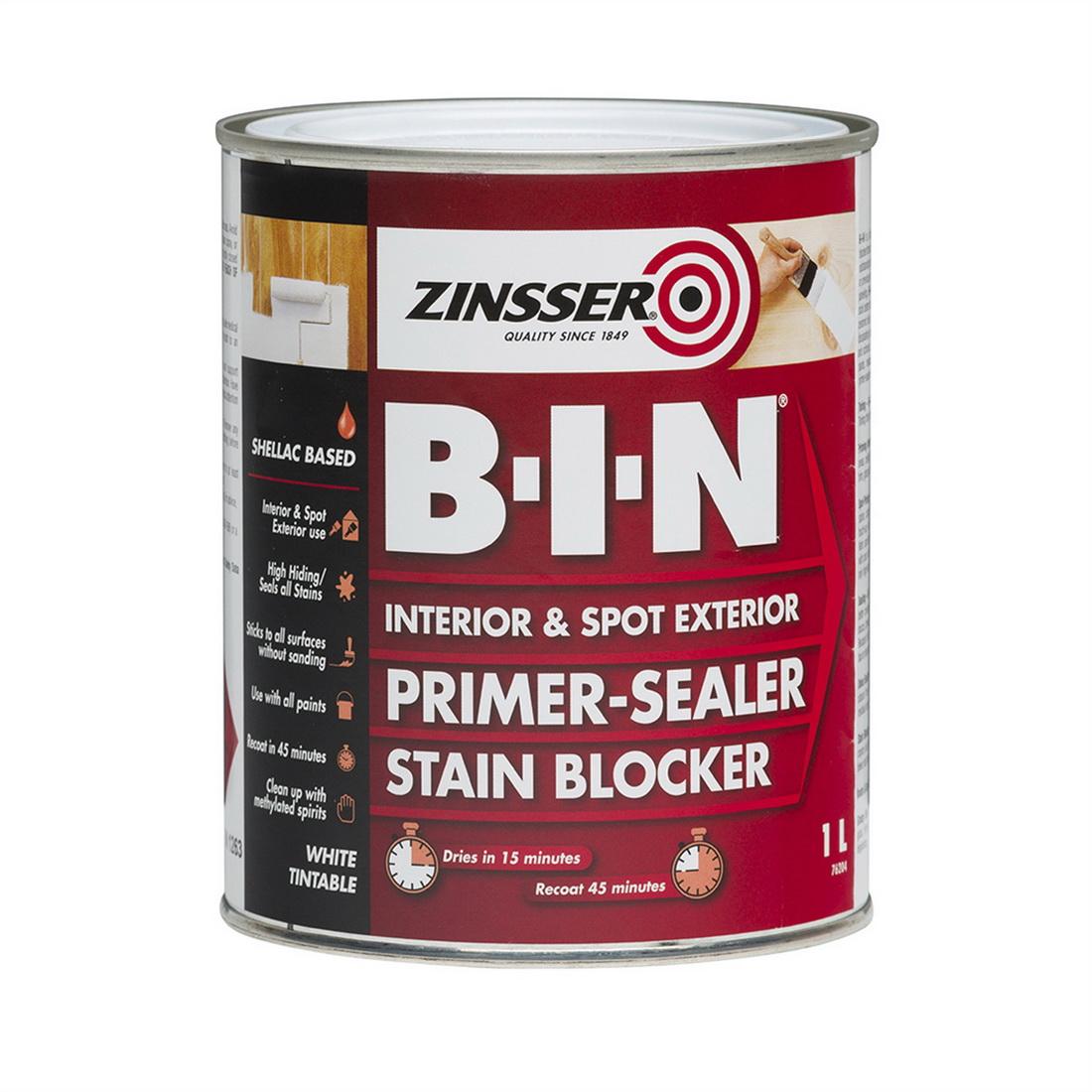 B-I-N 1L Primer Sealer White
