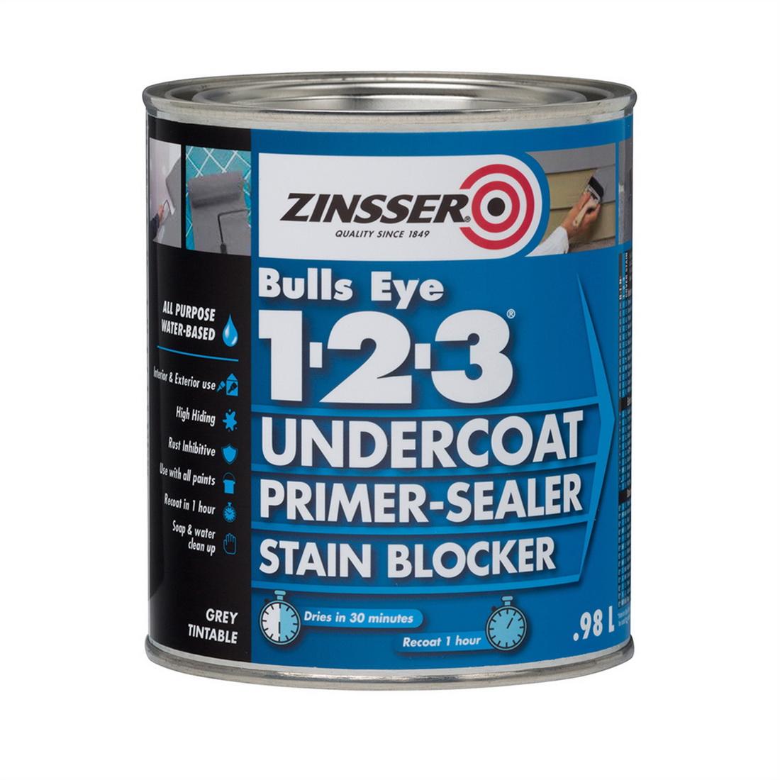 Zinsser Bulls Eye 123 Primer Sealer 1L HZ02004