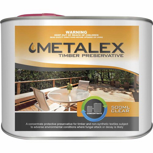Metalex 500mL Concentrated Timber Preservative Clear