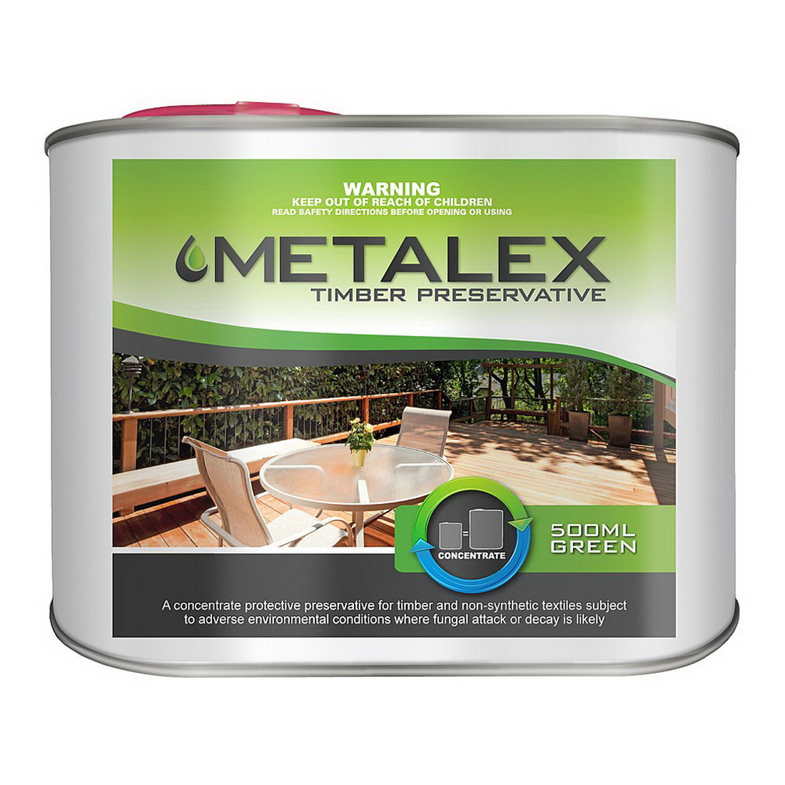 Metalex 500mL Concentrated Timber Preservative Green