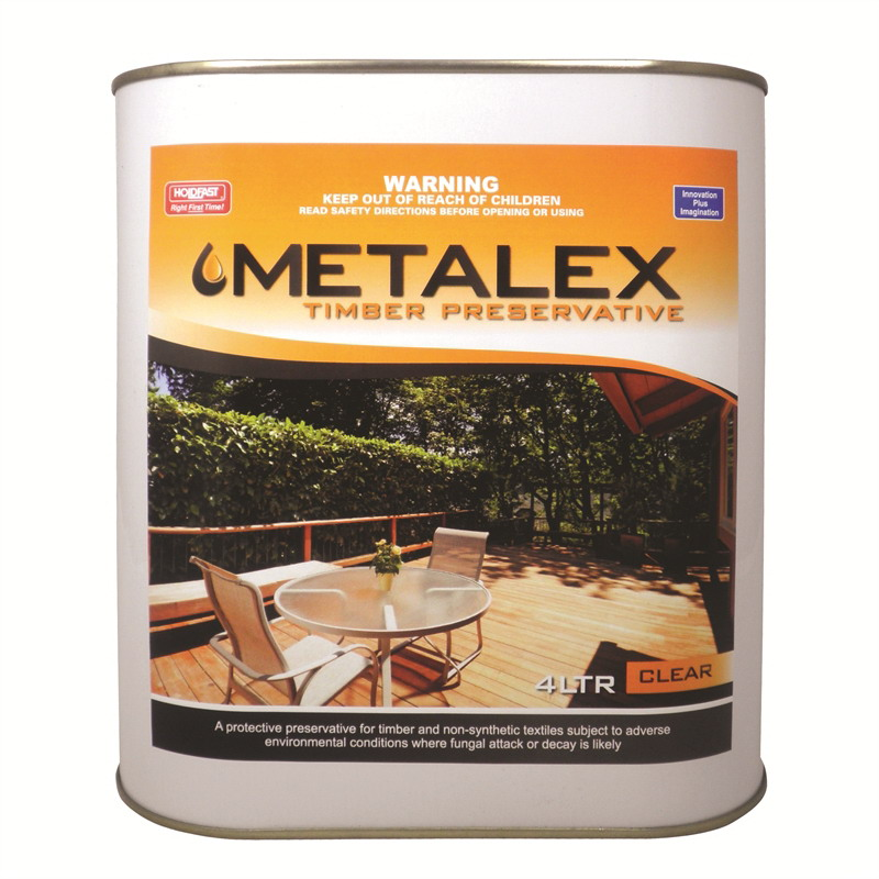 Metalex 4L Concentrated Timber Preservative Clear