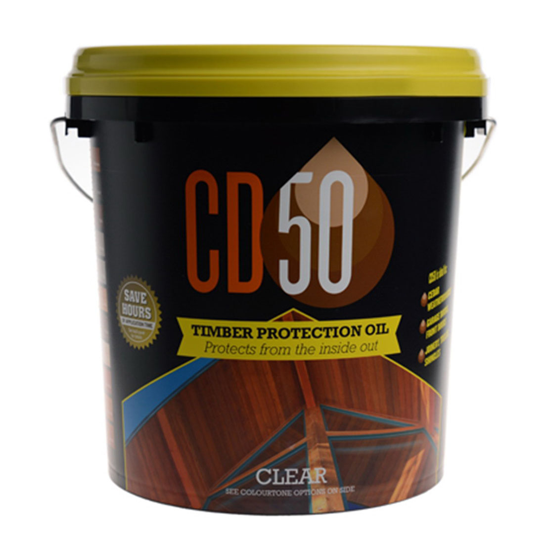 1L Timber Protection Oil Clear