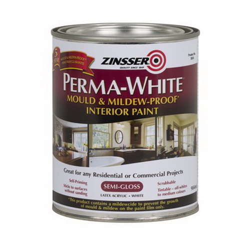 Perma-White 1L Mould & Mildew-Proof Interior Paint White