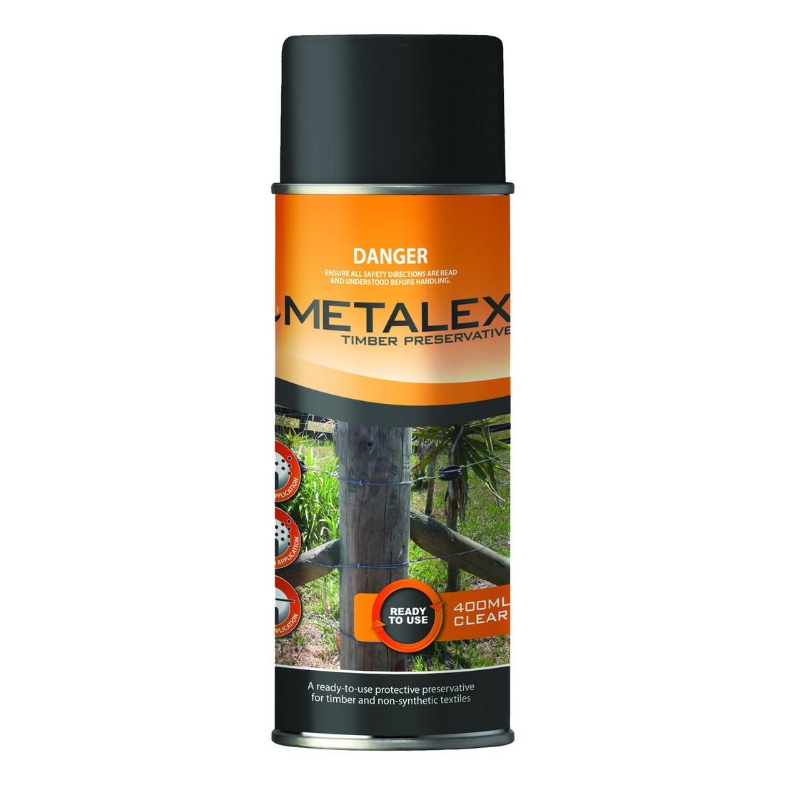 Metalex 400mL Aerosol Timber Preservative Clear