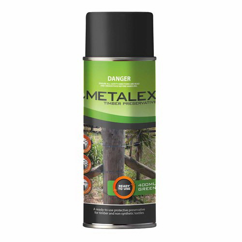 Metalex 400ml Aerosol Timber Preservative Green